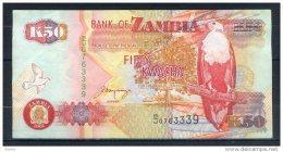 ZAMBIE 50 KWACHA  2001 - Zambie