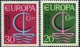 AX0338 Germany 1966 Europa 2v MNH - Europa-CEPT