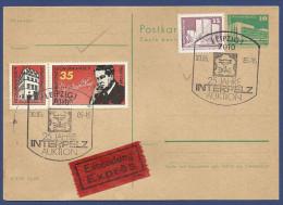 GERMAN DEMOCRATIC REPUBLIC USED POSTCARD POST CARD - Postcards