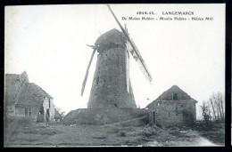 Cpa  De Belgique  De Molen Heblen , Moulin Heblen   HDK2 - Langemark-Poelkapelle