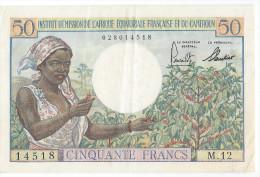Afriq,  Equat,  Franc,  Et Du Cameroun 50 Fr  (beau Billet) - Otros