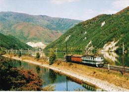 Hungary Modern Trains / Railways Motive Postcard - 08. - Schienenverkehr