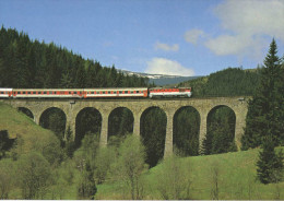 Hungary Modern Trains / Railways Motive Postcard - 15. - Schienenverkehr