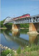 Hungary Modern Trains / Railways Motive Postcard - 17. - Schienenverkehr