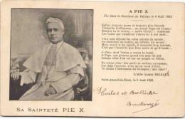 Sa Sainteté Pie X - Papes
