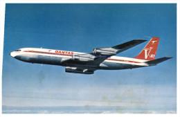 (PH 12) Australia - QANTAS Boeing 707 V-Jet - 1946-....: Moderne