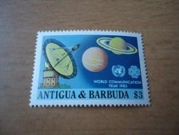 Antigua Und Barbuda: Weltkommunikationsjahr 1983 - Antigua Und Barbuda (1981-...)
