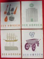 (0350525) 9 X Magazine Nordische Gesellschaft 1938-1943, Limpert-Verlag Berlin - Deutsch