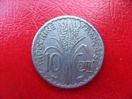 INDOCHINE Française - Pièce De 10 Centimes 1940 - TTB - Kolonien