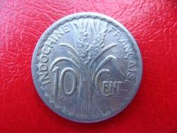 INDOCHINE Française - Pièce De 10 Centimes 1941 - TB - Kolonien
