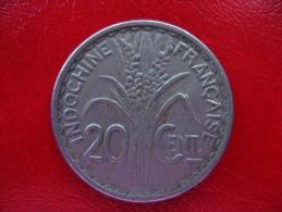 INDOCHINE Française - Pièce De 20 Centimes 1941 - TB - Kolonien