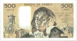 500 F Pascal - 3-3-1988 W 271 - 1962-1997 ''Francs''