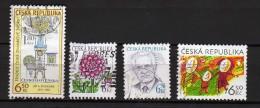 République Tchèque Y&t N° 357.351.352.361. - Gebraucht