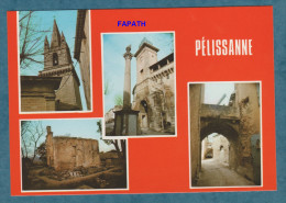 2 SCANS - 13 - PELISSANNE  - Non écrite - Multivues La Chapelle Saint Laurent - 10.5x15 - H.MOIROUD - Pelissanne