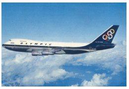 (PH 15) Greece - Olympic Airways Boeing 747-200 - 1946-....: Moderne