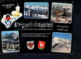 F1554 Kitzbuhel, Tirol - Funivia, Seilbahn, Téléphérique  - Nice Timbre And Stamp - Kitzbühel