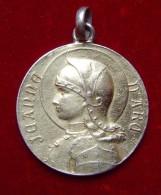 """Medaille Religieuse """" Jeanne D'arc """" - Argent Vermeil - Religión & Esoterismo"""