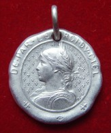 "Medaille Religieuse "" Jeanne D´arc "" - Argent Massif - Religión & Esoterismo"