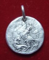"Medaille Religieuse "" Saint Georges "" - Argent Massif - Religión & Esoterismo"