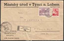 BuM1482 - (1940) Elbeteinitz - Tynec Nad Labem - Böhmen Und Mähren