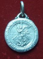"Medaille Religieuse "" Archange Michael "" - Argent Massif - Religión & Esoterismo"