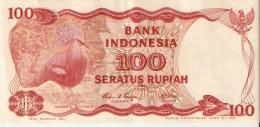 INDONESIE . 100 RUPIAH . 1984 . GOÜRA VICTORIA - Indonésie