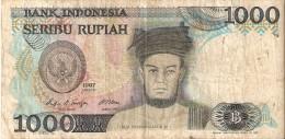 INDONESIE . 1000 RUPIAH . 1987 . RAJA SISINGAMANGARAJA XII - Indonesien