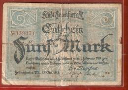 ALLEMAGNE 5 MARK   Février 1919 - 1918-1933: Weimarer Republik