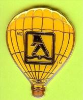 Pin's Montgolfière ' Faites Marcher Vos Doigts' Pages Jaunes - 2E06 - Luchtballons