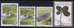 "SLOVENIA  - DEFINITIVE S.  -   LOT  ""A+D"" -  USED - Eslovenia"