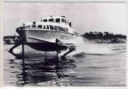 """ALISCAFO """"Freccia Del Garda""""; TRAGFLÜGELBOOT. Navigazione Sul Lago Di Garda SHIP - Bateaux"""