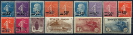 PROMOTION EXCEPTIONNELLE France Année Complète 1926 NEUF ** LUXE - Unused Stamps