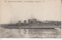 Marine De Guerre - Contre Torpilleur LEOPARD - D19 245 - Guerra