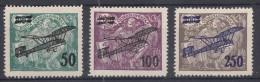 Czechoslovakia 1922 Airmail Mi#199-201 Mint Hinged