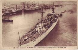 33 BORDEAUX - Le Croiseur DUGUAY TROUIN En Rade - Vue Aérienne - D12 - Guerra
