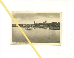 "AK Osterode - Ostpreußen - Motorschiff ""Konrad"" - Gelaufen 1943 - Guter Zustand - Pologne"