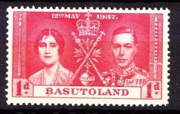 Basutoland, 1937, SG 15, Mint Hinged - Basutoland (1933-1966)