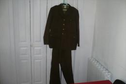 Marine  Veste+deux  Pantalons  Francaise Militaria 1945/1960 - Uniformes