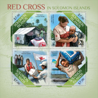 slm13513a Solomon Is. 2013 Red Cross s/s
