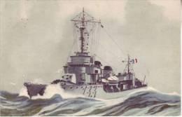 "Torpilleur ""BOMBARDE"" Lancé En 1935 - L. HAFFNER - D2 - Guerra"