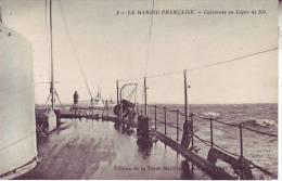 LA MARINE FRANCAISE - Cuirassés En Ligne De File - D4 55 - Guerra