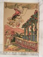 Chromo Publicité Sujet à Découper, Illustrateur Edouard Bernard, Crème Eclipse Cirage - Advertising