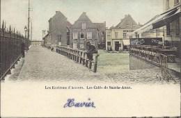Les Environs D' ANVERS - Les Cafés De Sainte-Anne - Gekleurd - Antwerpen