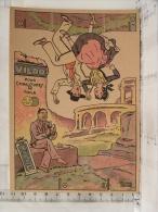 Chromo Publicité Sujet à Découper, Illustrateur Edouard Bernard, VILDO Pour Chaussures De Toile - Advertising
