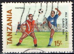 TANZANIA - 1991 - ALL AFRICA GAMES - CAIRO 1991 -  USATO - Tanzania (1964-...)