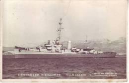 """Destroyer D´escorte """"TUNISIEN"""" - D9 1 - Warships"""