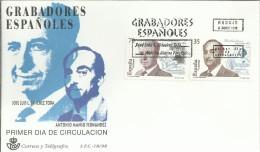 ESPAÑA SPD GRABADORES ESPAÑOLES GRABADOS SELLOS - Grabados