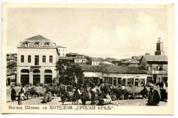 Stip, Mazedonien, Markt, Ca. 1940 - Mazedonien