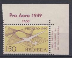 Switzerland 1949 Airmail Mi#518 Mint Never Hinged Lux