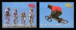 NEW ZEALAND 2001 - Cycling - Mi 1933-4, Sc B166-7